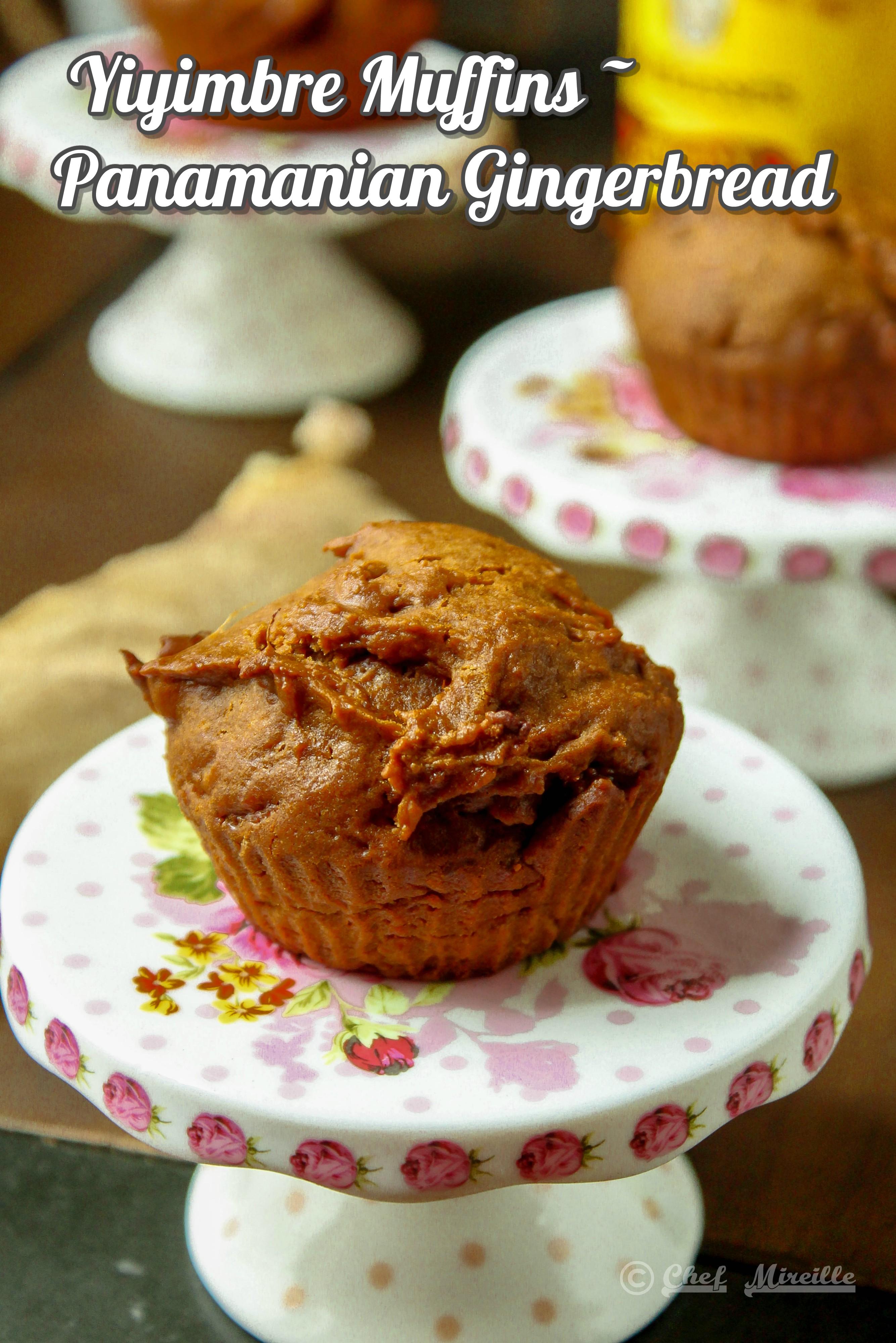 Yiyimbre Muffins, Panamanian Gingerbread