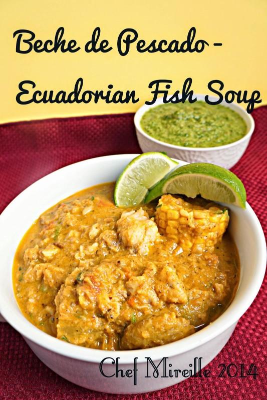 Ecuadorian Fish Stew