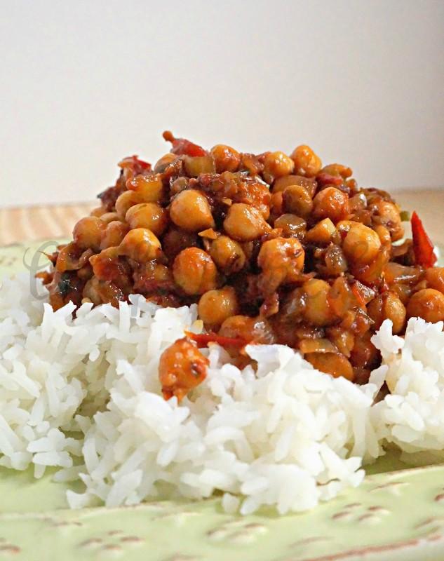 Ginger Garbanzos, Punjabi Chole