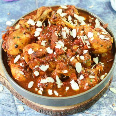Moroccan Saffron Chicken