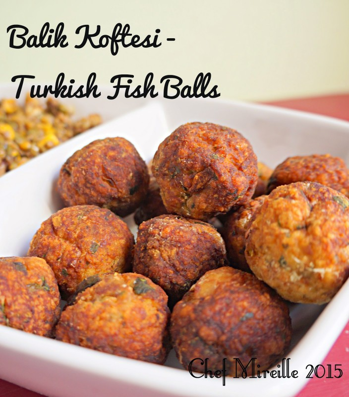 Turkish Fish Fritters