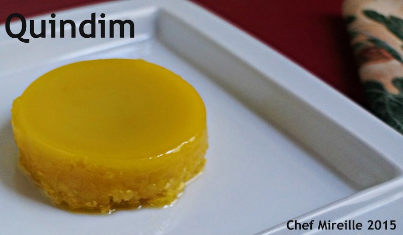 Brazilian Quindim, Egg Custard