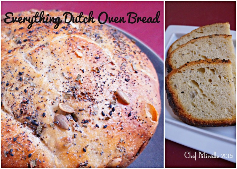 Everything Dutch Oven Bread