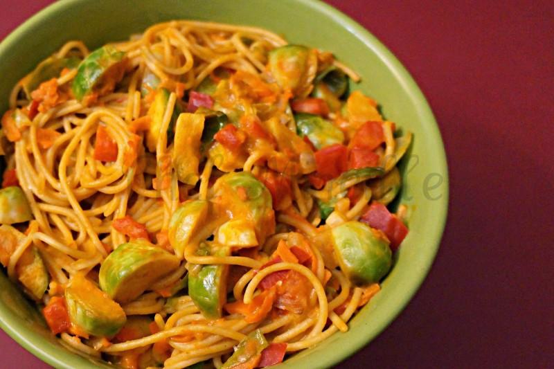 Caribbean Peanut Spaghetti