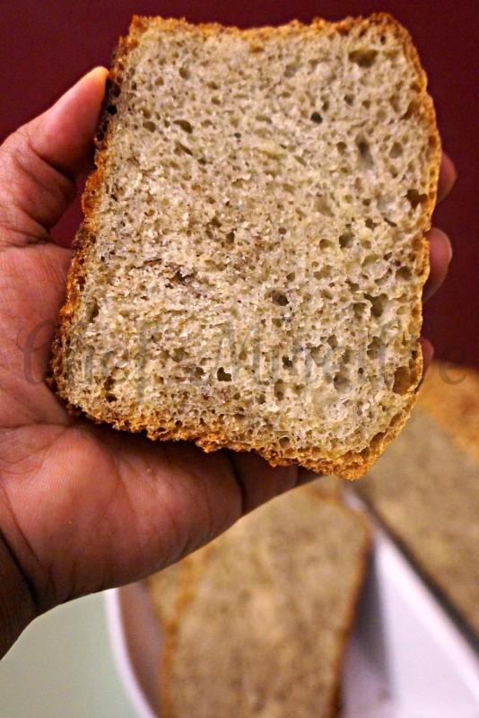 Sourdough Semolina Flax Seed Boule, Semolina Boule, Semolina Bread
