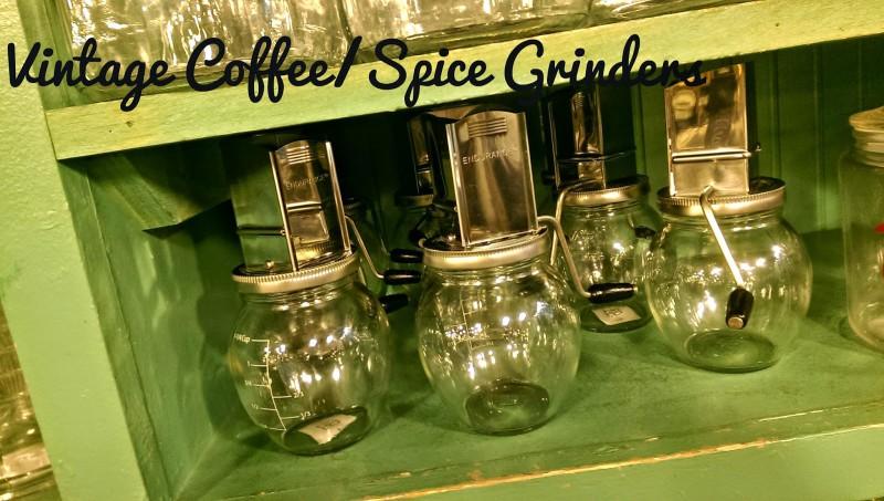 Spice Grinder, Coffee Grinder, Vintage Grinder