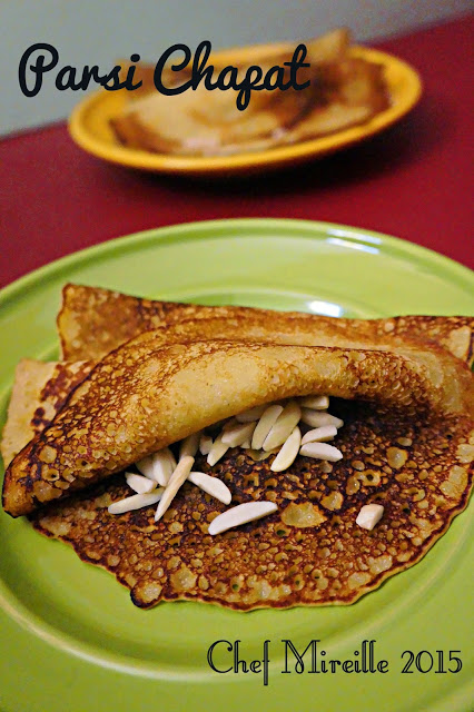 Indian Crepe, Indian Pancake, Parsi Chapat