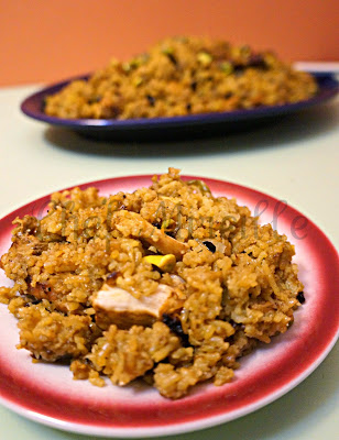 Parsi Chicken Berry Pilaf