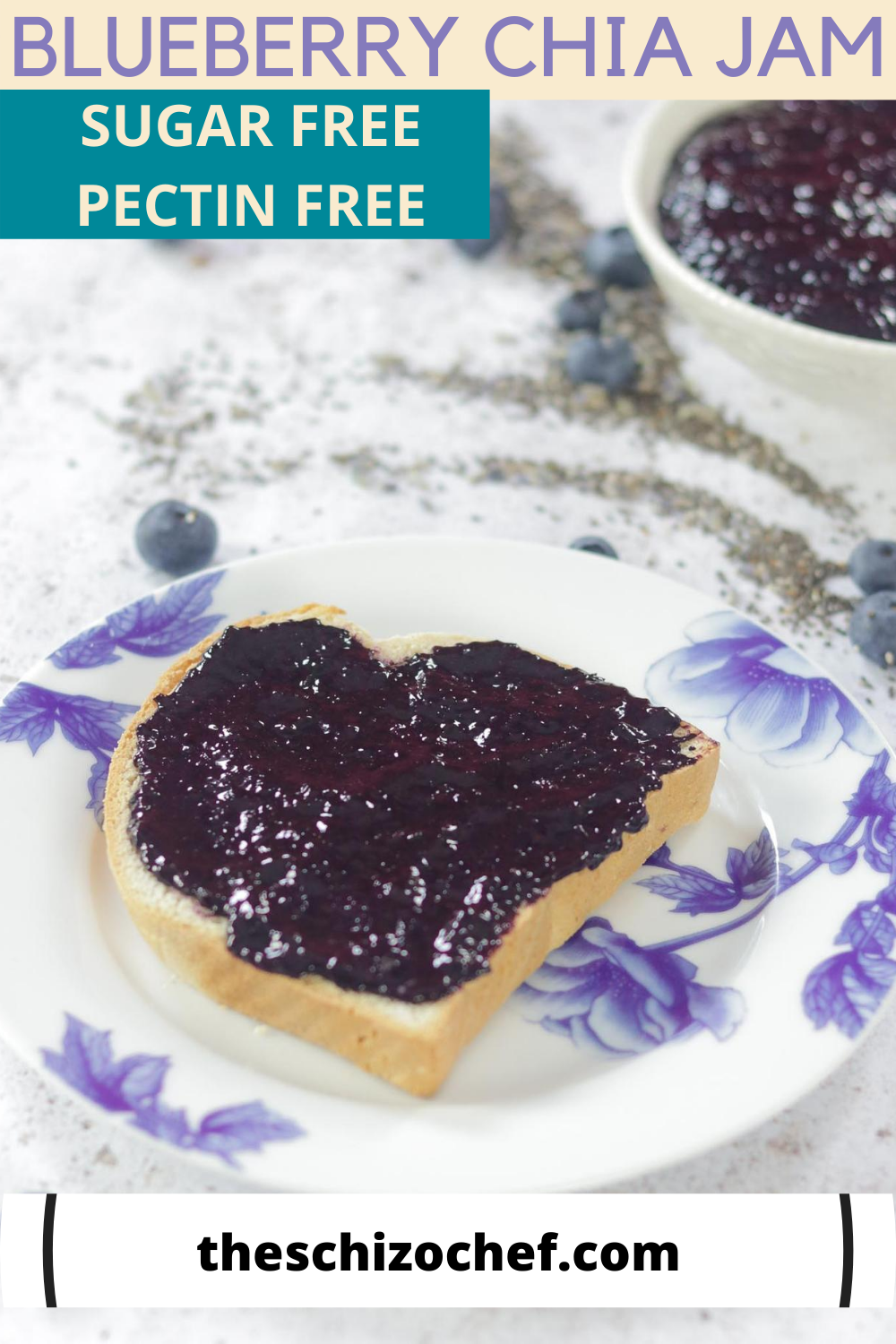 jam on toast with text