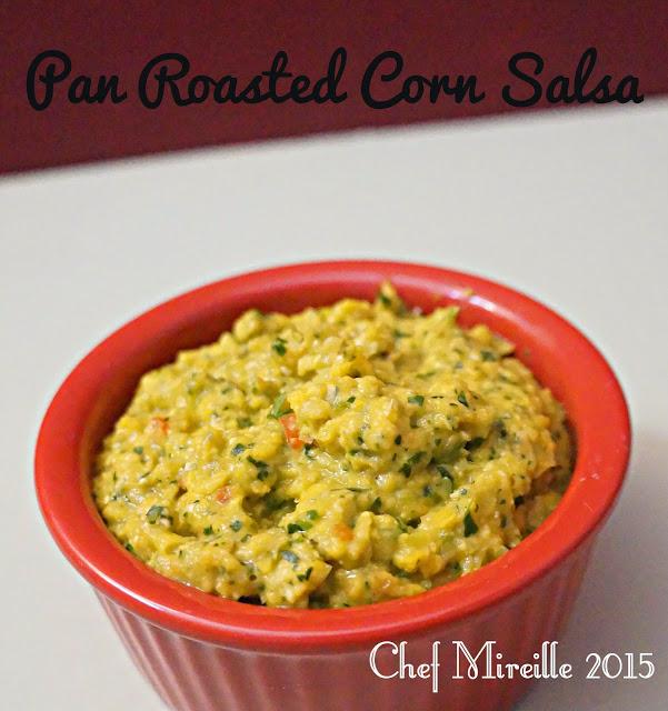 Pan Roasted Corn Salsa