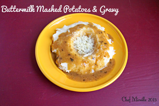 Mashed Potatoes & Gravy, Buttermilk Mashed Potatoes, Classic Gravy