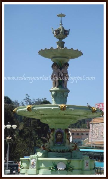 charing cross fountain