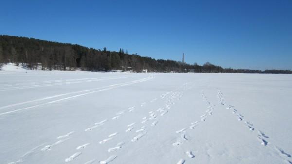Finland, Frozen Lake