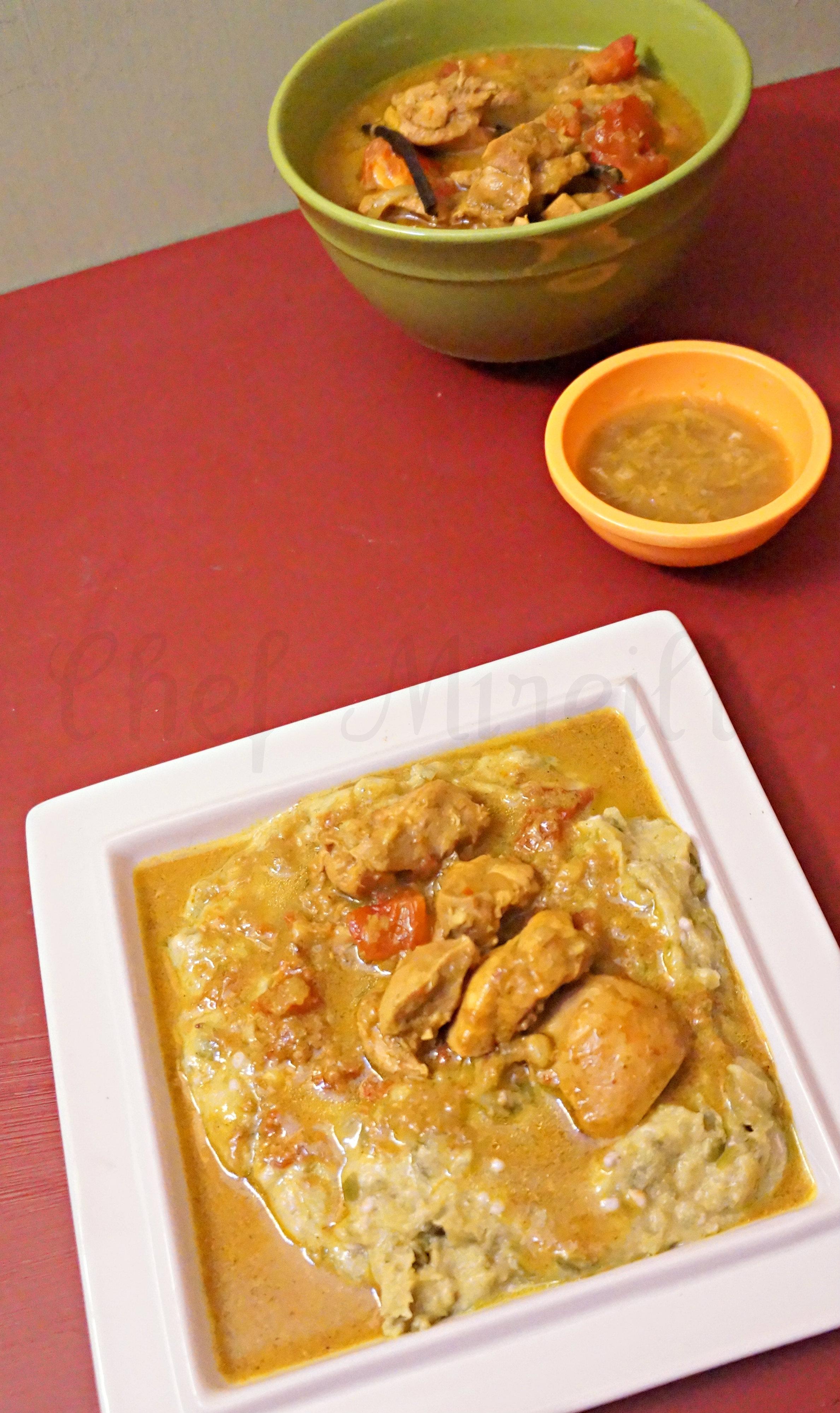 Madagascar Vanilla Chicken Curry