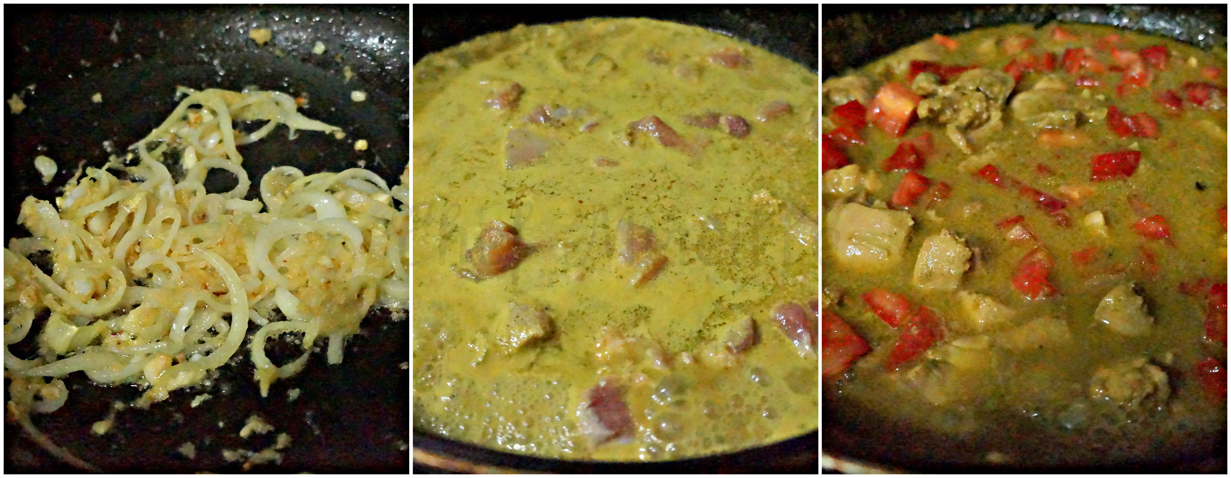Making Malagasy Curry Chicken