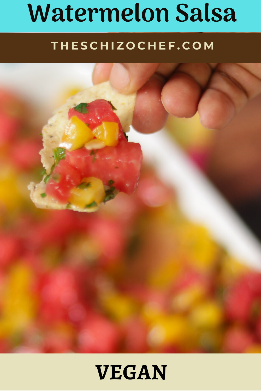 Watermelon Salsa recipe with text