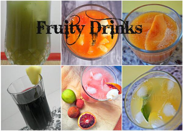 Fruit Drinks, Summer Drinks