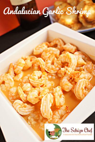 Andalucian Shrimp, Garlic Shrimp