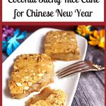 Nian Gao - Chinese Coconut Sticky Rice Cake