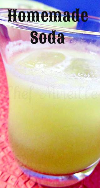 Honeydew Soda, Homemade Soda