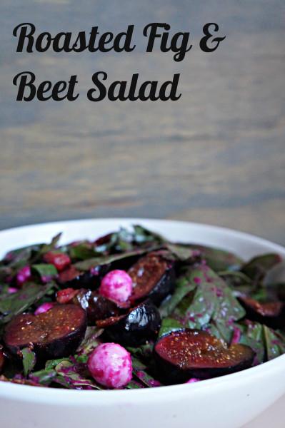 Roasted Fig & Beet Salad