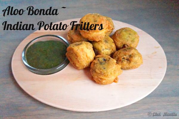Aloo Bonda, Indian Potato Fritter, #glutenfree
