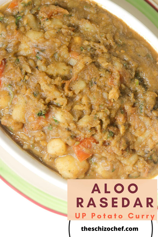 bowl of Aloo Rasedar - Uttar Pradesh Potato Curry