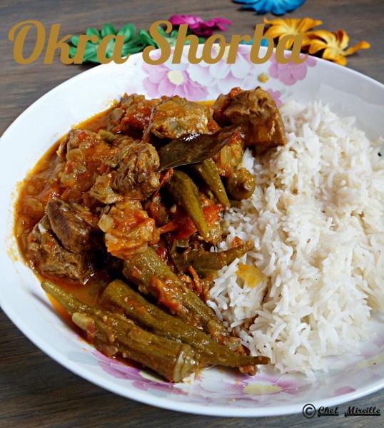 Okra Shorba, Hyderabadi Cuisine