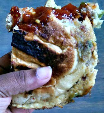 Roti John, Malaysian Breakfast Sandwich, Singapore Hawker Breakfast
