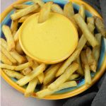 Cheese Sauce with French Fries