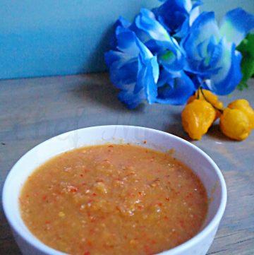Starfruit Sambal, Hot Suace