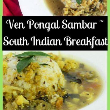 Ven Pongal Sambar