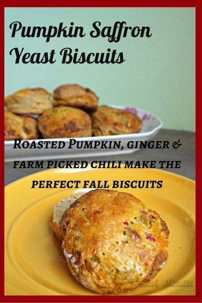 Yeast Biscuits, Pumpkin Biscuits