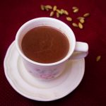 Spicy Cardamom Hot Chocolate
