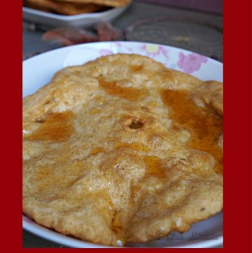Navajo Fry Bread, Indian Bread