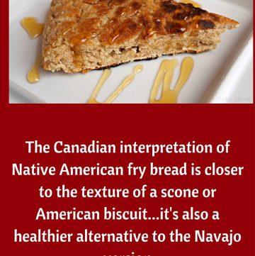 Canadian Bannock, Canadian Fry Bread, Native American Bread