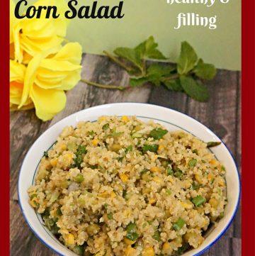 Quinoa Salad, Quinoa Corn Salad