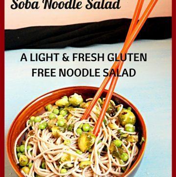 Soba Noodle Salad, Brussel Sprout Salad