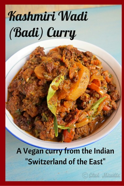 Wadi Curry, Kashmiri Badi Curry