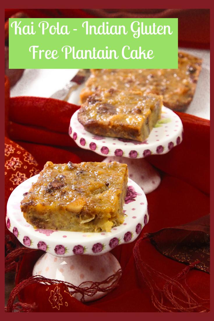 Kai Pola - Gluten Free Plantain Cake