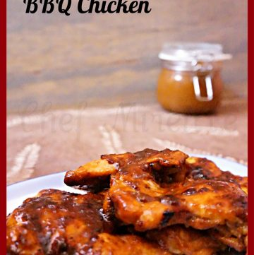 Indonesian Canteloupe Barbecue Sauce Chicken