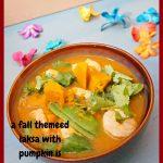 Pumpkin Shrimp Laksa #laksa