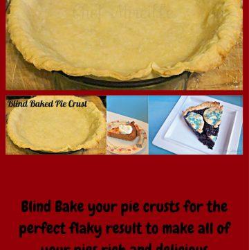 Pie Crust, Blind Baked