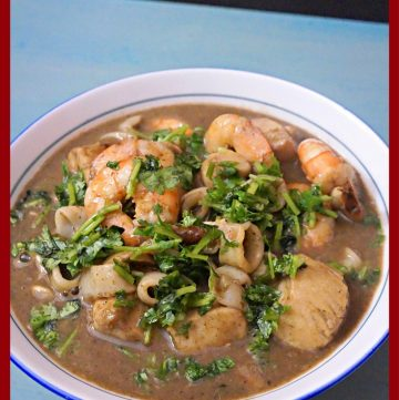 Thai Green Curry, Seafood Curry