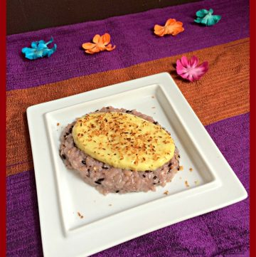 Black Rice Pudding, Khao Neow Dum Sung Khaya