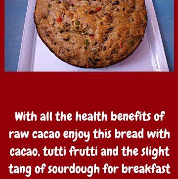 Sourdough Cacao Sweet Bread
