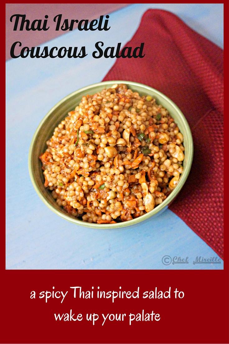 Thai Israeli Couscous Salad