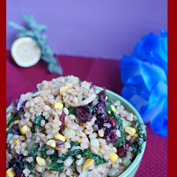 Wheatberry Kale Salad