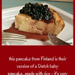 Aland Island Pancake, Finnish Pancake