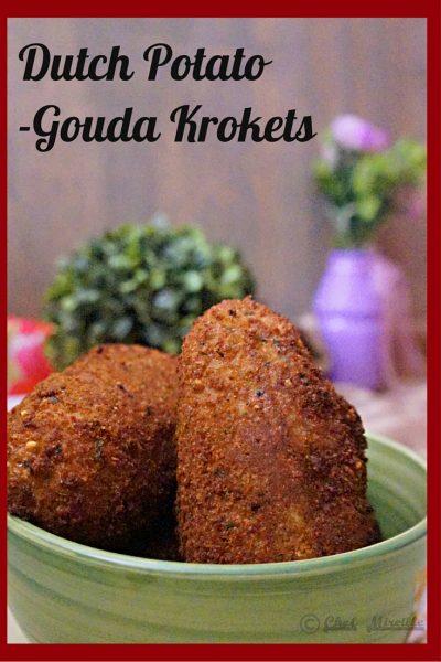 Potato Kroket, Aardappel Kroketten